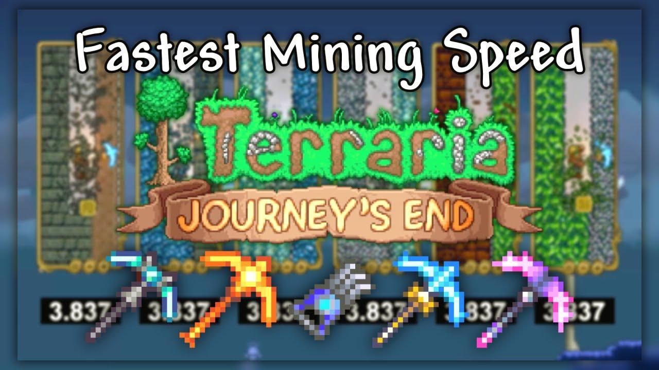 mining speed terraria