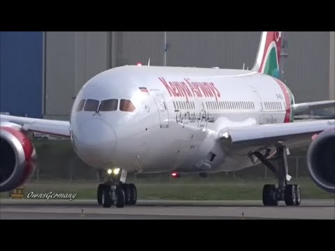 Kenya Airways Boeing 787 Dreamliner RoundTrip Test Flight @ KPAE Paine Field