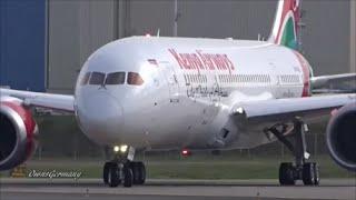 Kenya Airways Boeing 787 Dreamliner RoundTrip Test Flight @ KPAE Paine Field