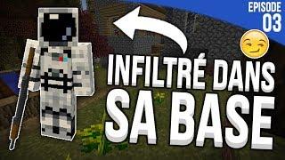 JE ME SUIS INFILTRÉ DANS SA BASE ! | Minecraft Moddé S4 | Episode 3