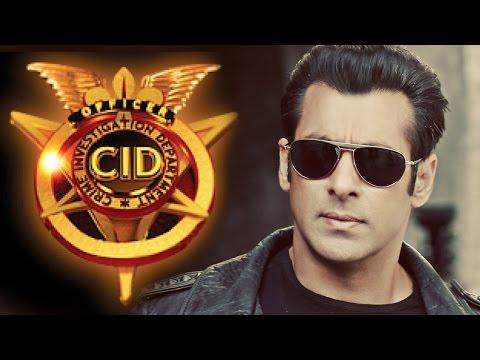 Salman Khan at CID TV Show for Kick