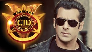 Salman Khan at CID TV Show for Kick's Promotion
