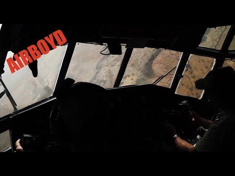 C-130 Hercules Flight Over Africa - Exercise Flintlock 18