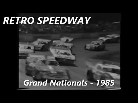 Retro Tasmanian Speedway - State Title Heat 1 Grand Nationals - Latrobe Speedway 1985