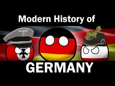 COUNTRYBALLS: Modern History Of Germany (Full)