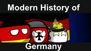 COUNTRYBALLS: Modern History Of Germany (Full)