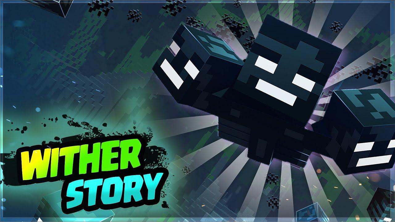 "WITHER"" Story in Hindi   Wither boss कौन हैं और वह क्यों बनाया गया है ? Minecraft Stories  #3"