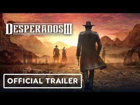 Desperados 3 - Official Doctor McCoy Trailer