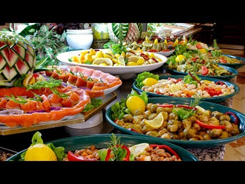 Египет 5*, ШВЕДСКИЙ СТОЛ, это того СТОИТ! Отель Reef Oasis Beach Resort - завтрак, обед и ужин ч.3