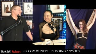 Fetish Model #AMA with Emily Rose - The K 101 Podcast for 24-Apr-2019