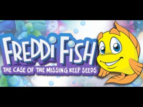 Freddi Fish And The Case Of The Missing Kelp Seeds - All Parts Full Gameplay/Walkthrough (Longplay)