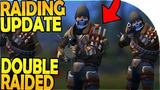 NEW RAIDING UPDATE (We Got DOUBLE RAIDED) - Last Day On Earth Survival Update 1.8.6