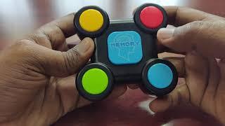 Toiing Memorytoi Electronic Meṁory Game - Review (Hindi)