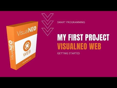 VisualNEO Web. First Project