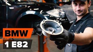 Hogyan cseréljünk Toronycsapágy szilent BMW 1 Coupe (E82) - video útmutató