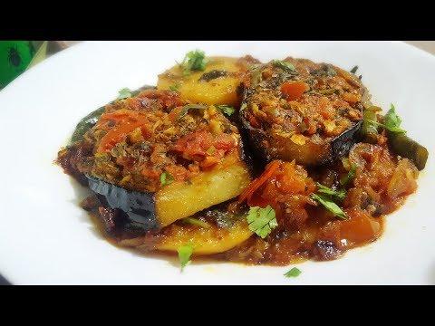 Sindhi Masala Bengan / Seyal Wangar / Eggplant Curry by (YES I CAN COOK)