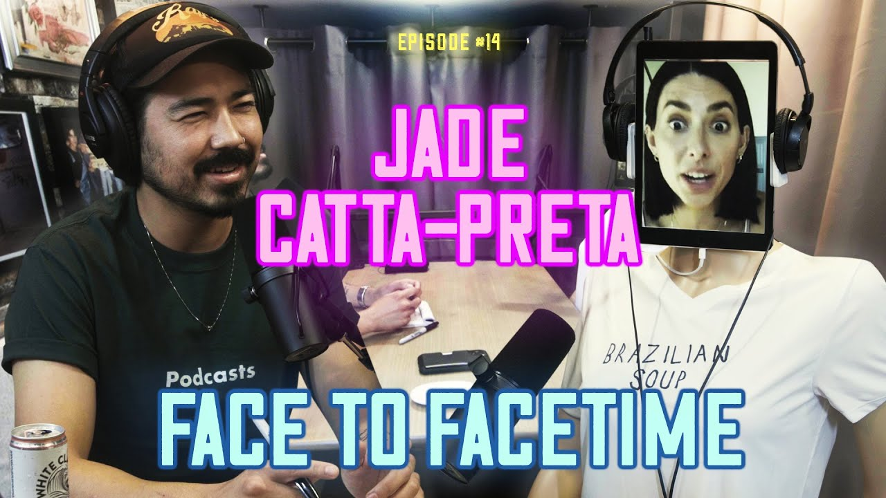 #14 Face to Facetime - Jade Catta-Preta and the science of comedy clubs + her leather wallet