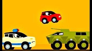 Машинки мультик для детей. Красная машинка РЕДДИ все серии подряд! Cars video for kids