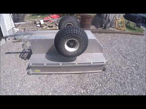 Tub Cart Tandem Axle Conversion