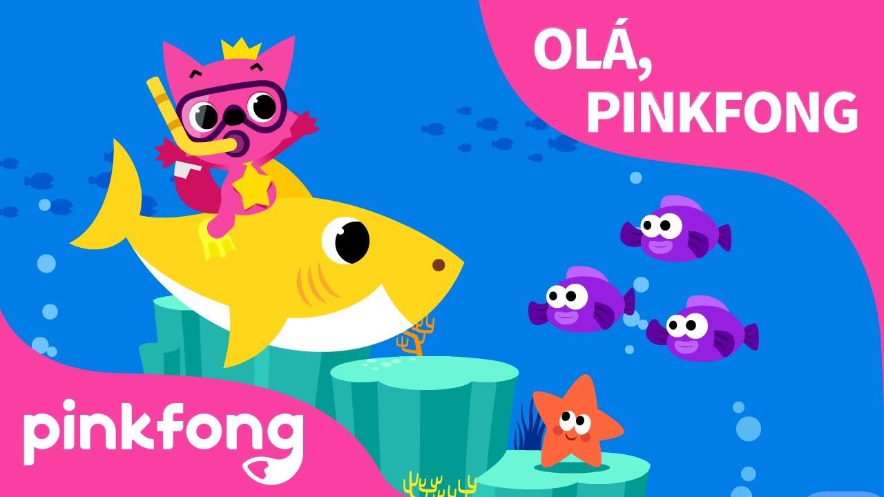Olá, Pinkfong | Vamos Cantar com Pinkfong | Pinkfong Canções para crianças