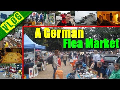 LIVING IN GERMANY | A Flea Market In Cologne / Köln! | VLOG | VlogDave