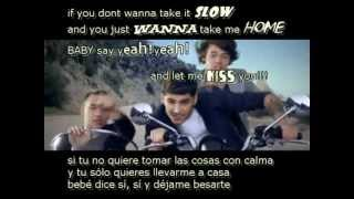 One Direction - Kiss You(LYRICS+SUBTITULOS EN ESPAÑOL