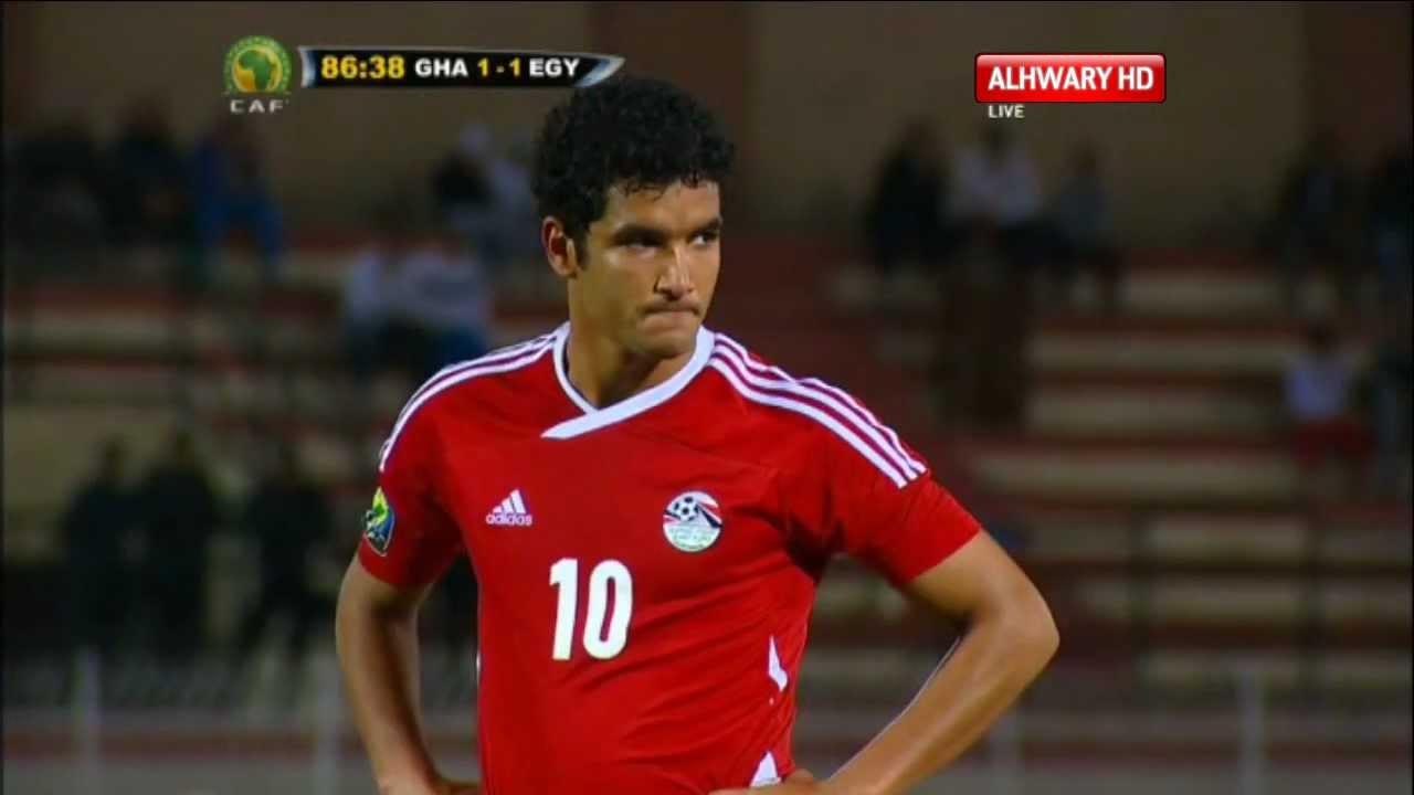 أهداف مصر 2 - 1 غانا ( كأس الأمم الإفريقية للشباب)