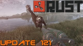 rust update 121 double barrel shotgun satchel charge lots of stuff