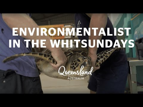 Great Barrier Reef Warrior: Libby Edge, Island Environmentalist in The Whitsundays
