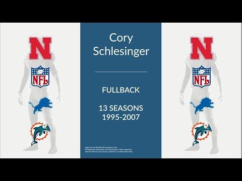 Cory Schlesinger: Football Fullback