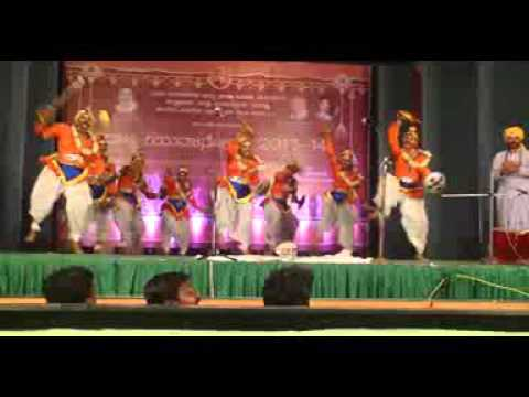 best veeragase dance by natyaparva