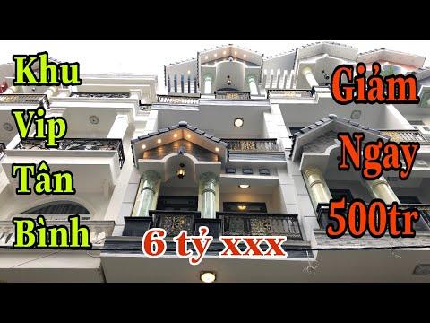 Bán nhà Tân Bình Tp.HCM[65🚖] Khu Vip trên đường Phạm Văn Bạch p15 quận Tân Bình giá rẻ. 6 tỷ 550tt