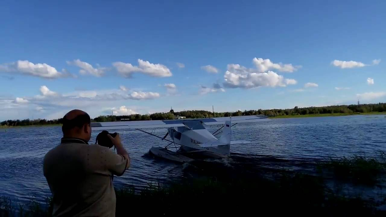 Super stol on the floats youtube