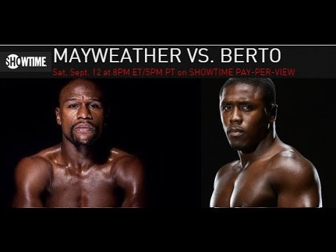 Mayweather-Berto Preview, Mayweather-Pacquiao IV Scandal?