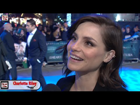 Charlotte Riley In The Heart Of The Sea Premiere :