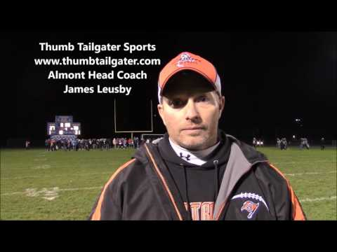 Thumb Tailgater Video Highlights & Post Game Interviews HS Football Almont at Richmond 10 28 2016