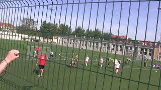 CZ1-Nagrywki Mamci Turniej 2011 w Legnicy -Kudełek w Akcji z Iskrą kochlice - I mecz
