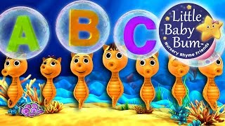 ABC Song | Underwater! | Nursery Rhymes | By LittleBabyBum
