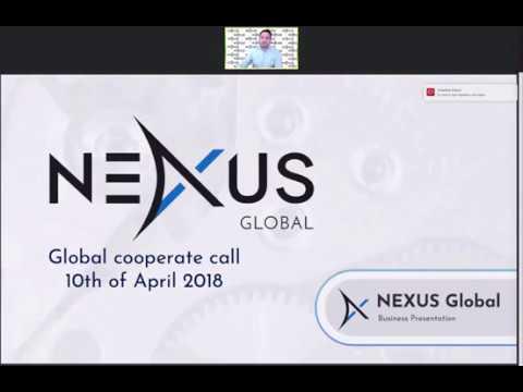 Nexus Global Webinar Oficial Christian Scheibener CEO April 10 2018