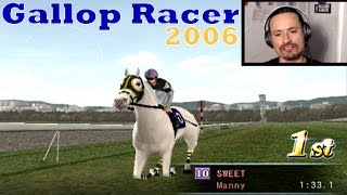 [PS2] Gallop Racer 2006 bred filly winning easily