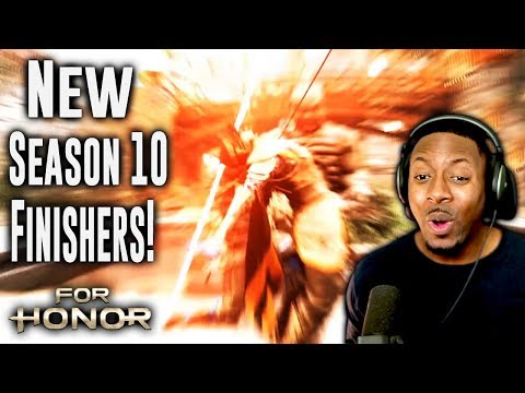 For Honor All Season 10 Finishers Reaction ∙ Orochi & Aramusha Are The Best!