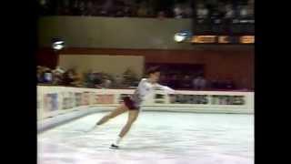 Katarina Witt EM 1982 Lyon