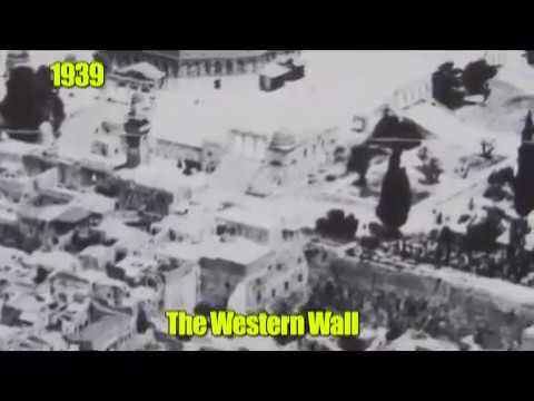 The Western Wall - The Liberation  from the Jordanians at  the Six Days War. Jerusalem, Israel 1967