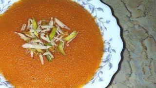 Suji Ka Halwa  Rawa Samolina Halwa  Rava Kesari  Sooji Halwa by Aliza In The Kitchen