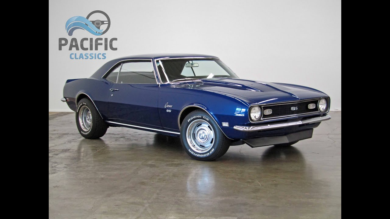 1968 Chevrolet Camaro blue