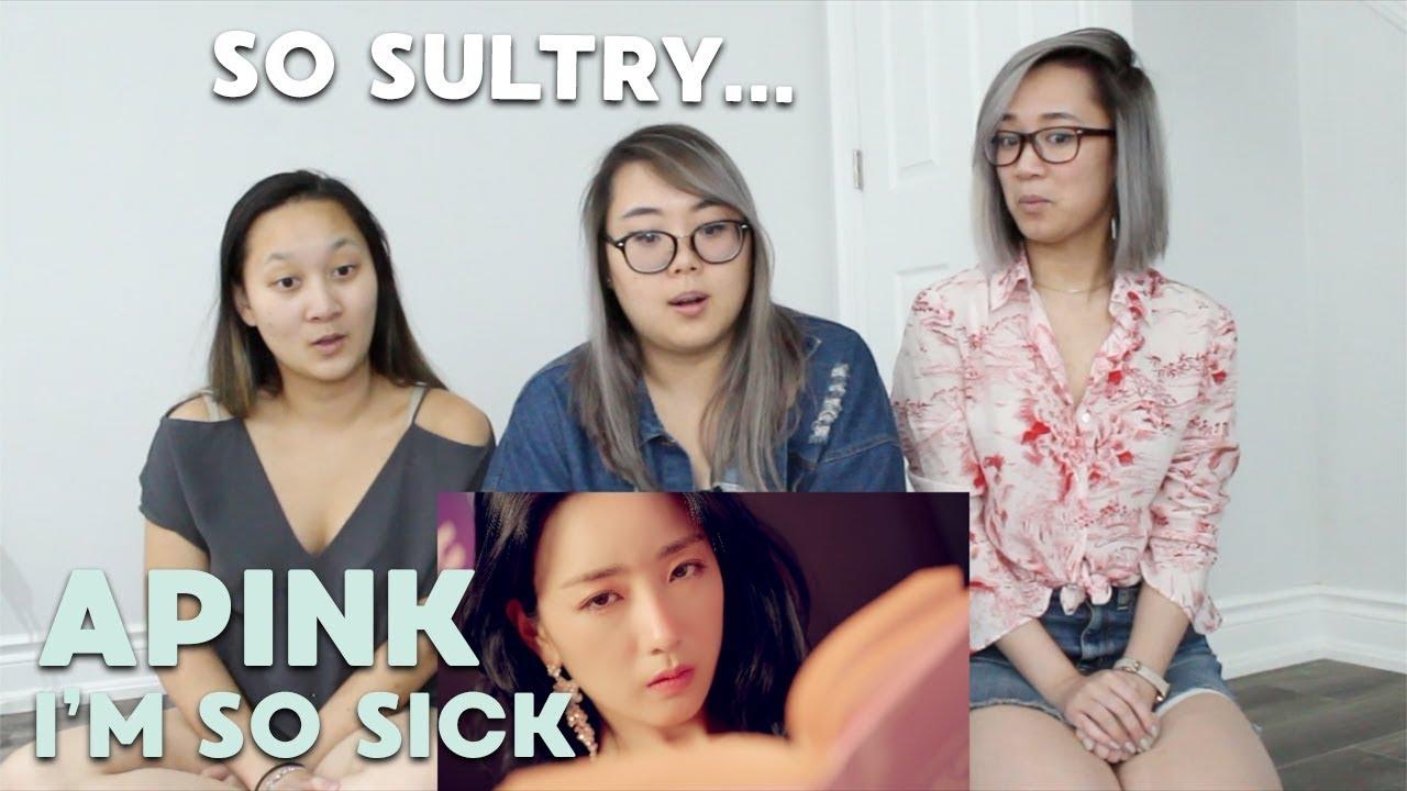MV REACTION   Apink (에이핑크) 'I'm So Sick (1도 없어)'