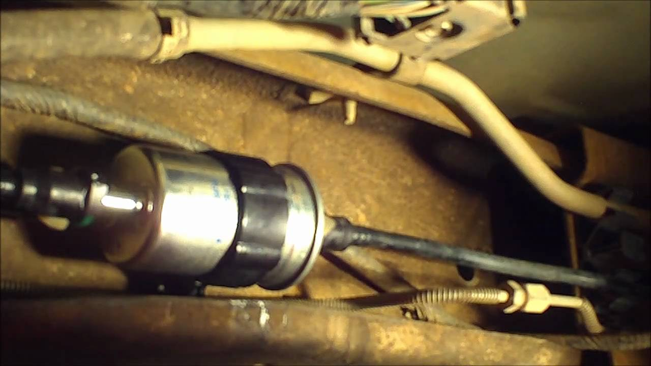 Ranger Fuel Filter Replacet - YouTube