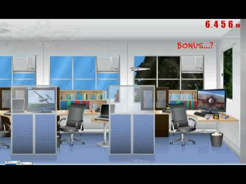 Flight Simulator Paper Plane