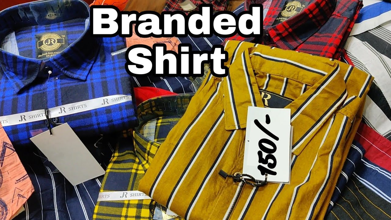 branded shirts at nominal price cheapest shirt wholesale market अब घर बैठे मंगाए  29,6,20
