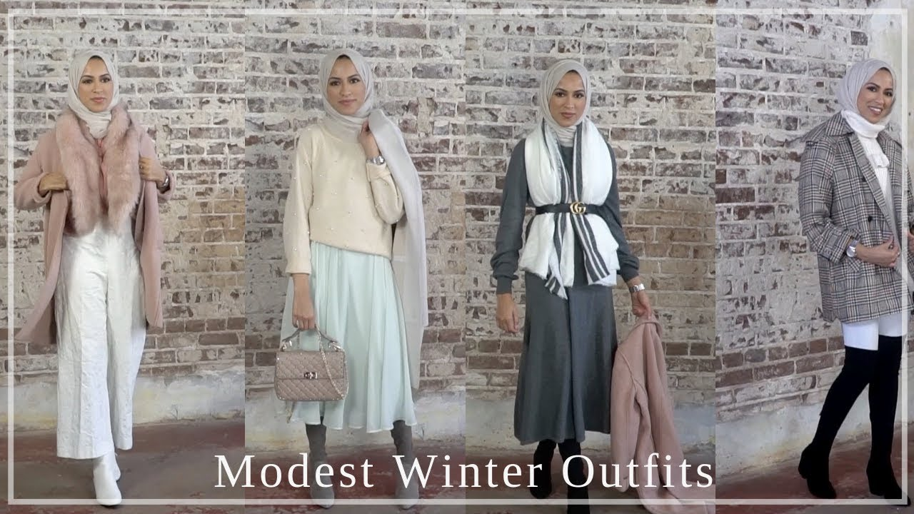 Winter outfit ideas- Modest Fashion | simplyjaserah 6